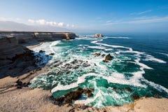 Λα Portada (βράχος αψίδων) σε Antofagasta, Χιλή Στοκ Εικόνες