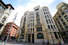 Λα Previsià ³, παλαιά πόλη της Βαρκελώνης, Ισπανία Casal de Στοκ εικόνες με δικαίωμα ελεύθερης χρήσης