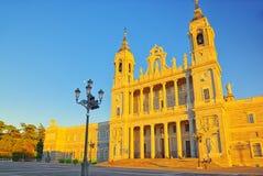 Λα Real de Λα Almude Catedral de Σάντα Μαρία καθεδρικών ναών Almudena Στοκ εικόνες με δικαίωμα ελεύθερης χρήσης