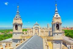 Λα Real de Λα Almude Catedral de Σάντα Μαρία καθεδρικών ναών Almudena Στοκ Φωτογραφία