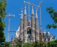 Λα sagrada Ισπανία famila εκκλησιών της Βαρκελώνης Στοκ φωτογραφία με δικαίωμα ελεύθερης χρήσης