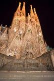 Λα sagrada Ισπανία familia της Βαρκελώνης Στοκ Φωτογραφία