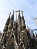 Λα sagrada Ισπανία familia της Βαρκελ Στοκ φωτογραφία με δικαίωμα ελεύθερης χρήσης