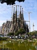 Λα sagrada Ισπανία familia της Βαρκελ Στοκ Φωτογραφίες