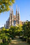 Λα sagrada Ισπανία familia της Βαρκελώνης Στοκ Εικόνες