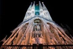 Λα sagrada Ισπανία familia της Βαρκε&lambda Στοκ φωτογραφία με δικαίωμα ελεύθερης χρήσης
