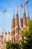Λα Sagrada Familia καθεδρικών ναών από το Antoni Gaudi Στοκ φωτογραφία με δικαίωμα ελεύθερης χρήσης
