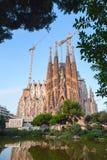 Λα Sagrada Familia καθεδρικών ναών από το Antoni Gaudi Στοκ εικόνα με δικαίωμα ελεύθερης χρήσης