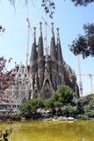 Λα sagrada familia της Βαρκελώνης Στοκ εικόνες με δικαίωμα ελεύθερης χρήσης