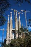 Λα sagrada familia της Βαρκελώνης Στοκ φωτογραφίες με δικαίωμα ελεύθερης χρήσης