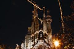 Λα sagrada familia της Βαρκελώνης Στοκ φωτογραφία με δικαίωμα ελεύθερης χρήσης