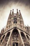 Λα Sagrada Familia Στοκ φωτογραφία με δικαίωμα ελεύθερης χρήσης