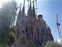 Λα Sagrada Familia 4 Στοκ εικόνα με δικαίωμα ελεύθερης χρήσης