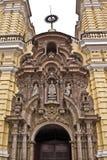 Λα SAN iglesia de Francisco Στοκ φωτογραφίες με δικαίωμα ελεύθερης χρήσης