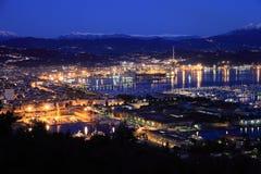 Λα Spezia στην από τη Λιγουρία ακτή, Ιταλία Στοκ εικόνα με δικαίωμα ελεύθερης χρήσης