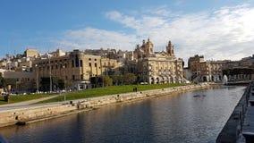 Λα Valletta Μάλτα Στοκ φωτογραφίες με δικαίωμα ελεύθερης χρήσης