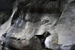 Λα Zarza | Petroglyphs Στοκ εικόνες με δικαίωμα ελεύθερης χρήσης