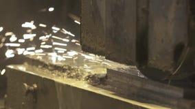 Λείανση του μετάλλου απόθεμα βίντεο