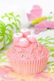 λείες cupcake Στοκ φωτογραφία με δικαίωμα ελεύθερης χρήσης