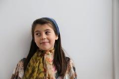 Λείο καυκάσιο μαγικό νέο κορίτσι Στοκ Φωτογραφία