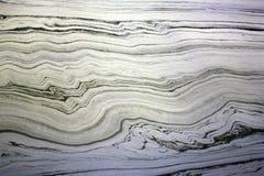 Λείο πετρέλαιο καύσεως βιομηχανίας που ανατρέπει το νερό Στοκ Φωτογραφία