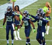 Λεγεώνα των Seattle Seahawks του βραχίονα Στοκ φωτογραφία με δικαίωμα ελεύθερης χρήσης