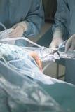 Λειτουργία νοσοκομείων χειρουργικών επεμβάσεων γονάτων Στοκ φωτογραφία με δικαίωμα ελεύθερης χρήσης