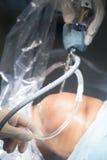 Λειτουργία νοσοκομείων χειρουργικών επεμβάσεων γονάτων Στοκ Φωτογραφίες