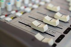 Λειτουργία του ακουστικού αναμίκτη Στοκ Εικόνα