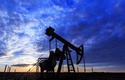 Λειτουργούντα πετρέλαιο και φυσικό αέριο καλά Στοκ φωτογραφία με δικαίωμα ελεύθερης χρήσης