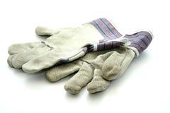Λειτουργώντας γάντια από το δέρμα στοκ εικόνες
