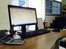 Λειτουργώντας γραφείο Στοκ φωτογραφία με δικαίωμα ελεύθερης χρήσης