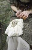 Λειτουργώντας τέχνη γυναικών Στοκ φωτογραφία με δικαίωμα ελεύθερης χρήσης