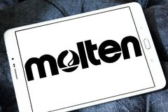 Λειωμένο λογότυπο εταιριών Στοκ εικόνες με δικαίωμα ελεύθερης χρήσης