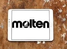 Λειωμένο λογότυπο εταιριών Στοκ φωτογραφίες με δικαίωμα ελεύθερης χρήσης