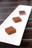 Λειωμένο μέταλλο σοκολάτας Στοκ φωτογραφίες με δικαίωμα ελεύθερης χρήσης