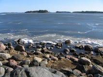 λειώνοντας θάλασσα Στοκ φωτογραφία με δικαίωμα ελεύθερης χρήσης