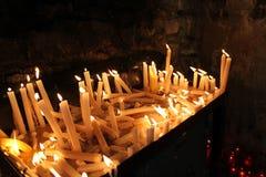 Λειώνοντας κεριά στοκ εικόνες με δικαίωμα ελεύθερης χρήσης