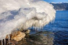 Λειώνοντας πάγος Στοκ φωτογραφία με δικαίωμα ελεύθερης χρήσης