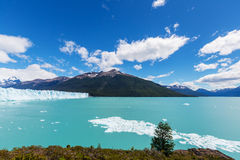 Λειώνοντας παγετώνας στην Αργεντινή Στοκ Φωτογραφίες