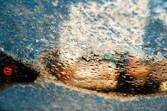 Λειώνοντας παγωμένος ανεμοφράκτης Στοκ Εικόνες