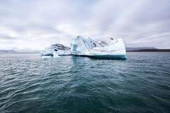 Λειώνοντας παγόβουνο Στοκ Φωτογραφία