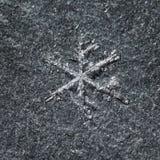 λειώνοντας snowflake στοκ φωτογραφία με δικαίωμα ελεύθερης χρήσης