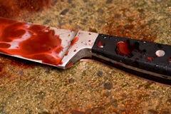Λεκέδες αίματος Στοκ Φωτογραφίες