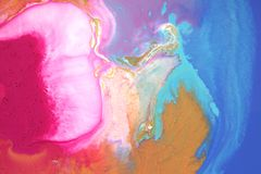 λεκέδες ζωηρόχρωμοι αφηρημένη ανασκόπηση όπως η ανασκόπηση είναι μπορεί να δώσει όψη μαρμάρου στη σύσταση χρησιμοποιούμενη Ο ακρυ Στοκ Εικόνα