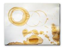 λεκέδες καφέ Στοκ εικόνες με δικαίωμα ελεύθερης χρήσης
