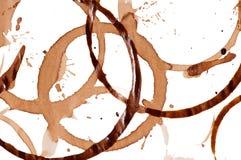 λεκέδες καφέ Στοκ Εικόνες