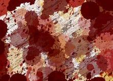 λεκέδες σκουριάς ανασ&k απεικόνιση αποθεμάτων