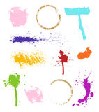 λεκέδες χρώματος απεικόνιση αποθεμάτων
