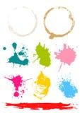 λεκέδες χρώματος ελεύθερη απεικόνιση δικαιώματος